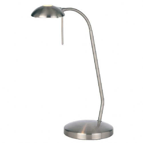 33W Touch Table Lamp Satin Chrome BX656-TL-SC-17 (Class 2 Double Insulated)